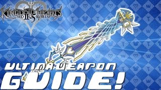 Kingdom Hearts HD 2.5 ReMIX - COMPLETE GUIDE: Ultima Weapon / Item Synthesis / FM Materials (KH2 FM)