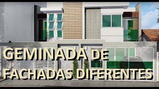 CASA GÊNINADA DE FACHADAS DIFERENTES mxf