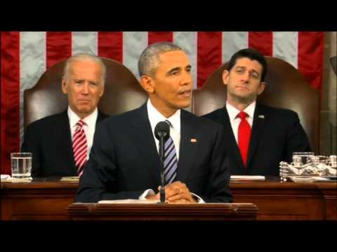 Divided we stand: Obama's final State of the Union address
