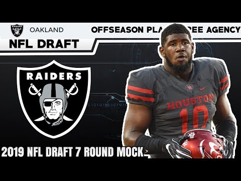 Oakland Raiders Full Offseason Preview | Free Agency + 7 Round Mock Draft