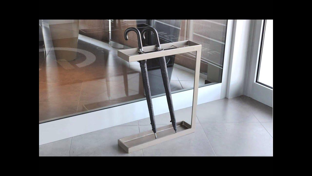 Portaombrelli in ferro vernicaito youtube - Portaombrelli design moderno ...