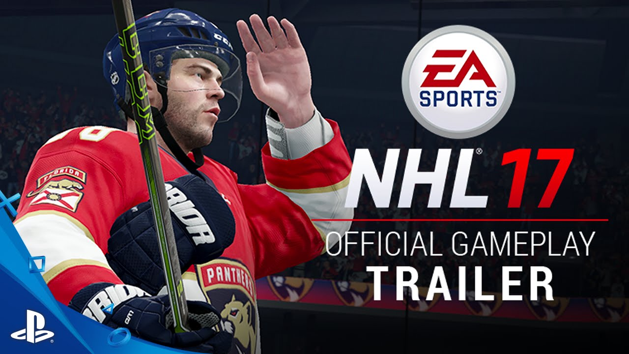 Nhl 17 Official Gameplay Trailer Ps4 Youtube