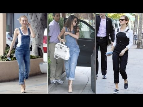 Download Youtube: 3 Ways to Wear Overalls Right Now   Celeb Style