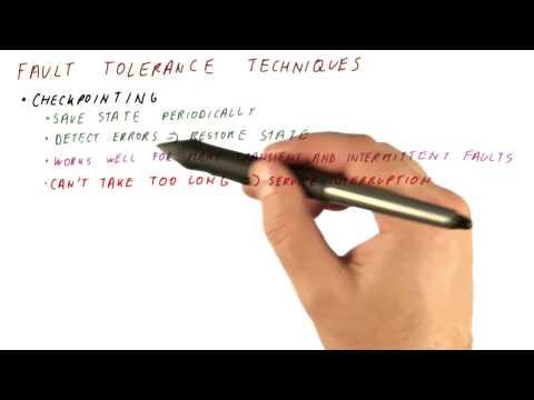 Fault Tolerance Techniques - Georgia Tech - HPCA: Part 5