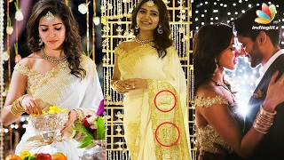 Samantha Revealed the Secret Behind Her Engagement Saree