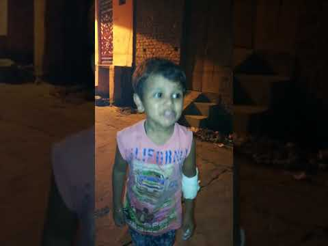 Little baby singing India's RASTRY GAAN funny RESPECTED INDIA LOVE