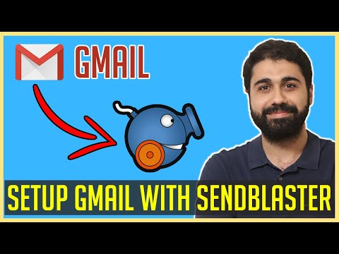 How To Setup Gmail With SendBlaster | Gmail SMTP Setting | Bulk Mailing With Gmail