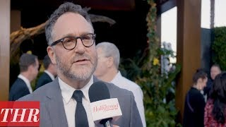 Colin Trevorrow On The 'Jurassic World: Fallen Kingdom' Premiere Red Carpet | THR