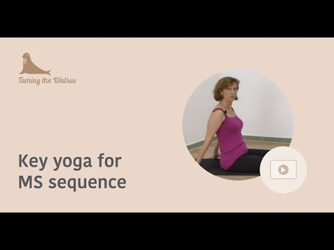 Yoga for Multiple Sclerosis Seated Warm up Sequence