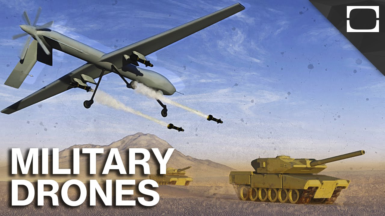The Pros And Cons Of Drone Warfare - YouTube