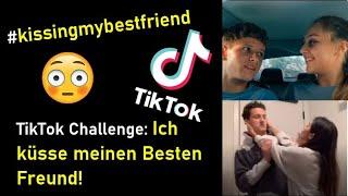 TikTok Challenge: Küsse den Besten Freund   Tik Tok #kissingmybestfriend