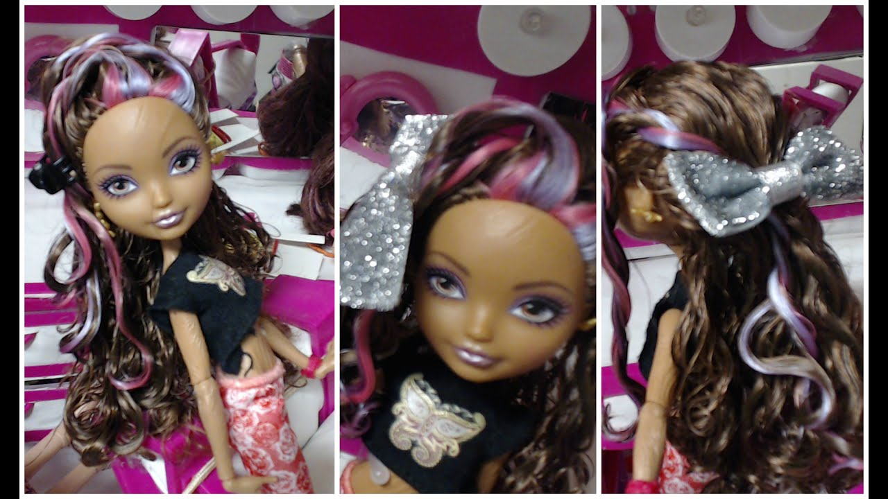 Cute hairstyles for barbie dolls - Cute dolls and girls hairstyles how to make 10 different hairstyles to a ever after doll