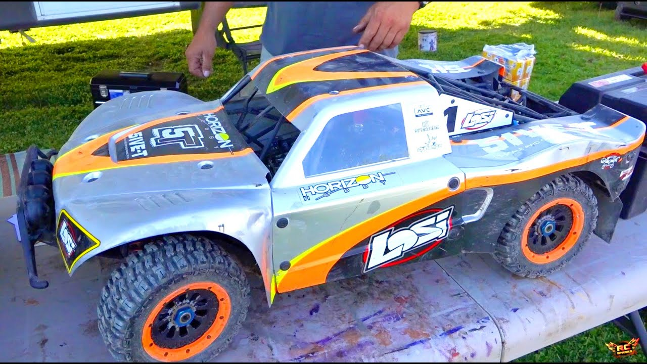 BiG DiRTY 2016 PT 1 TRUCK Review & Interviews 1 5 Scale froad Racing Event