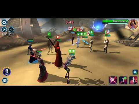 Weak Nightsisters on Offense vs. Jedi in Territory War
