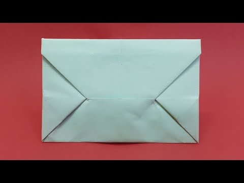 How to make Paper Envelope from A4 sheet - DIY Envelope Ideas