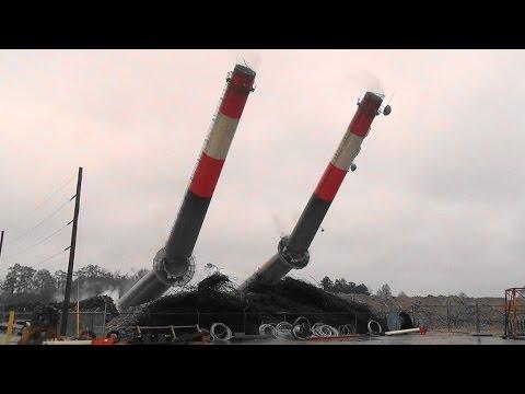 Grainger Generating Station Chimneys - Controlled Demolition, Inc.
