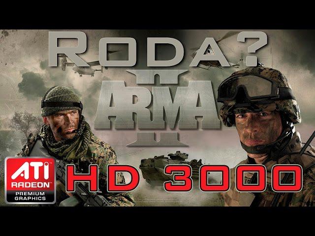 Arma 2 - Ati Radeon Hd3000 (onboard)