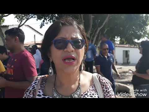 Prof.Ana Maria fala sobre a construção  da Ferinha do feira x.