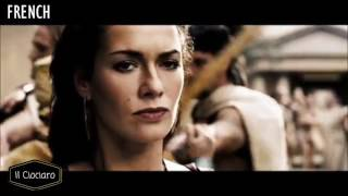 300 (film) - Different Languages: Italian, English, Spanish, French, Germany and Russian
