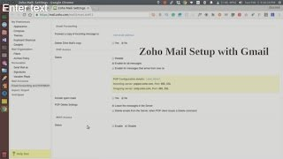 How to setup your zoho email with gmail mobile client
