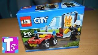 ЛЕГО Сіті Пожежні 60105 Розпакування і складання Лего Lego City Firefighters #Іграшки на TUMANOV FAMILY