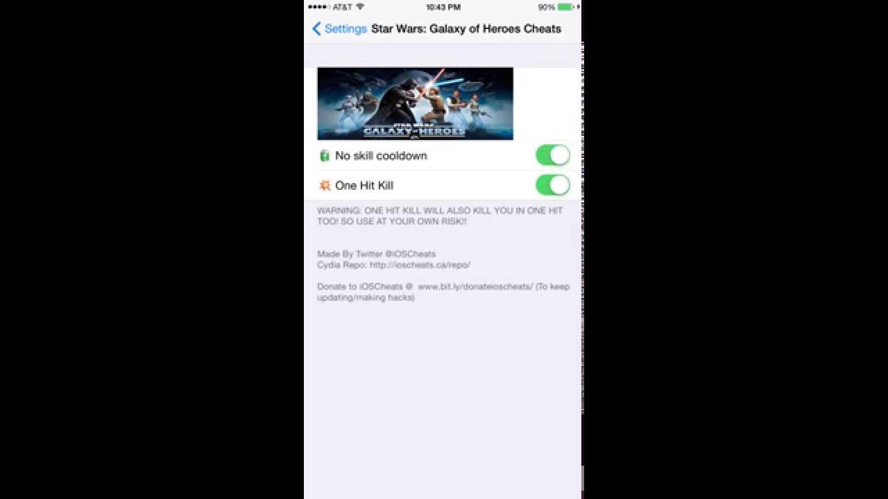 Star Wars Galaxy of Heroes Cheats 0 4 1 | Star Wars Galaxy