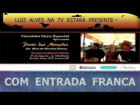 LUIZ ALVES   NA  TV: CINEASTA  FABRÍCIO CAVALCANTI