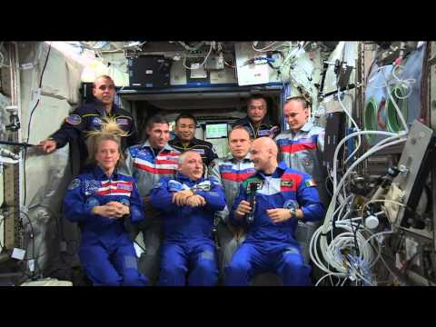 Expedition 37/38/39 Joint Crew News Conference