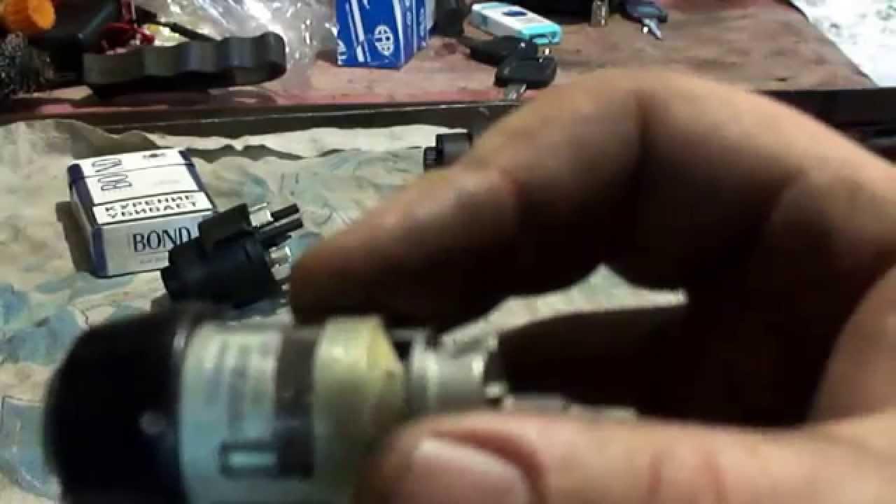 замена личинки зажигания на фольксваген видео