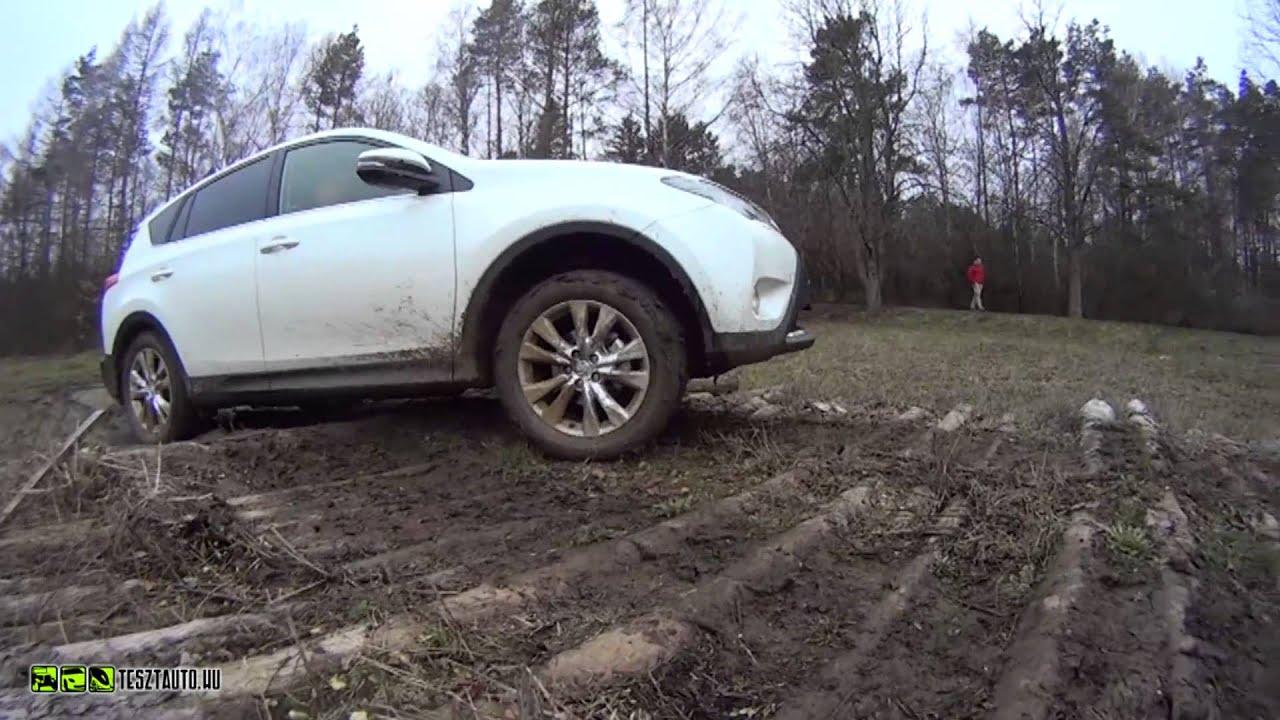 Toyota Rav4 Off Road Teszt Youtube