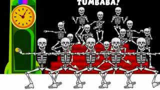 BABELZONE   Los esqueletos   Skeleton song   spanish songs for kids