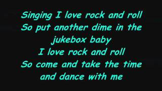 ACDC- I love rock & roll lyrics.wmv