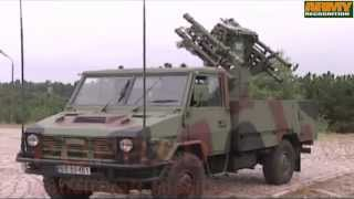 POPRAD Zubr P anti-aircraft mobile GROM missile launcher short-range air defense system Poland army