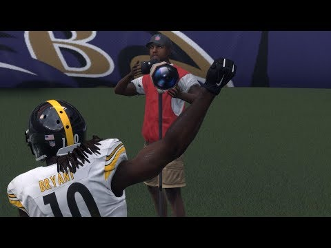 Madden NFL 18 Franchise Mode | Steelers vs Ravens Week 4