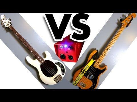 Music Man Stingray vs Fender Precision Bass AB Comparison Through REDDI (7.12.11 - Day 194)