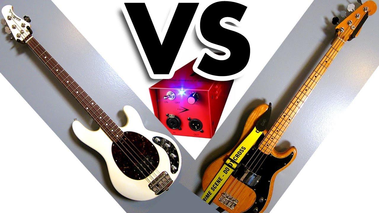 music man stingray vs fender precision bass ab comparison through reddi day 194. Black Bedroom Furniture Sets. Home Design Ideas