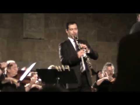 Alessandro Carbonare - Mozart - Concerto Per Clarinetto K 622 - 2. Adagio