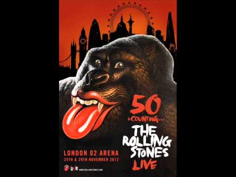 The Rolling Stones - 50 & Counting Live - O2 Arena Nov 25th, 2012