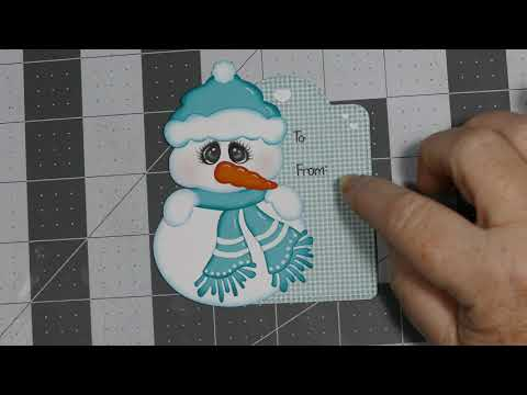 2019 Christmas Tags, Episode 1
