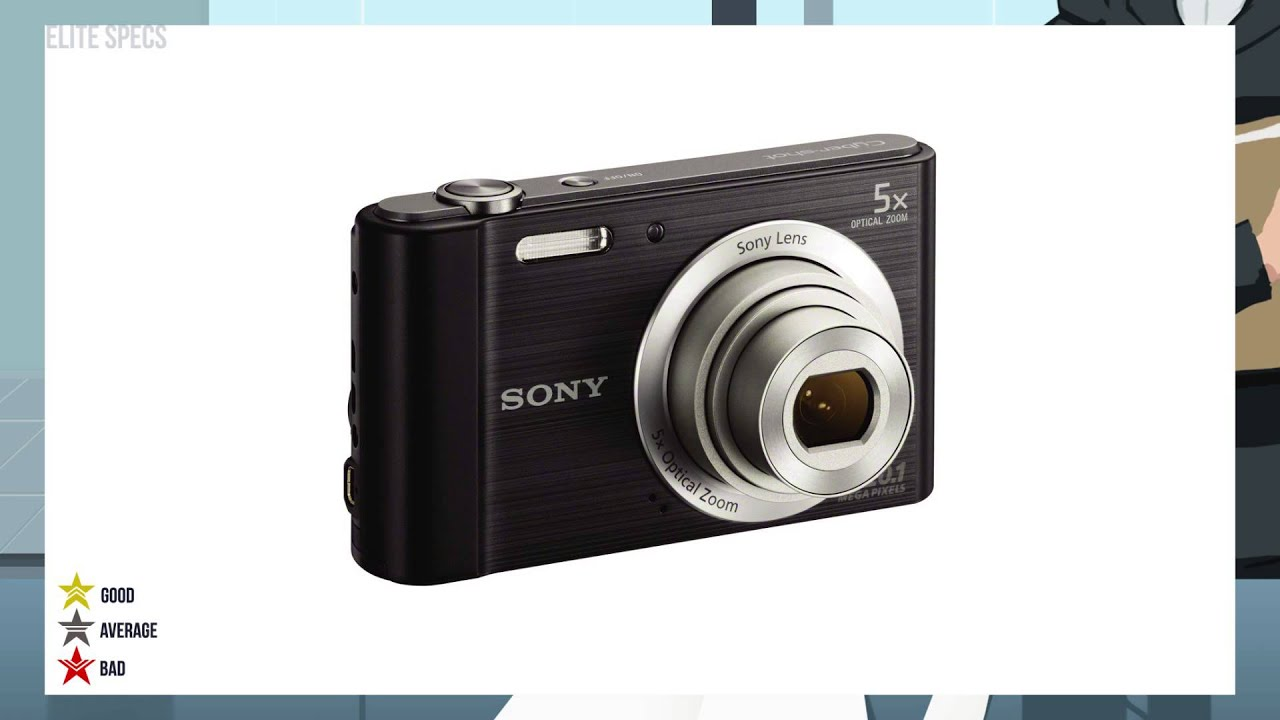 Sony Cyber-shot DSC-W810 digital camera: description, specifications, and reviews