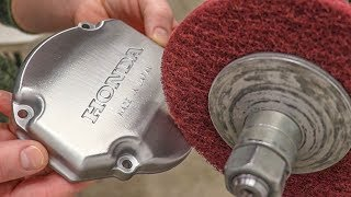 Shining Up Dirt Bike Parts The Easy Way!