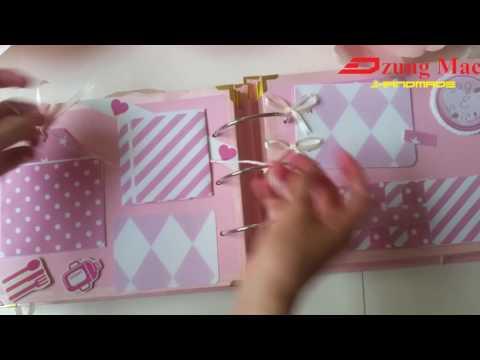 SCRAPBOOK ideas for kids - DIY - HANDMADE WITH LOVE - By Soda handmade