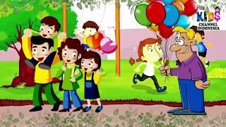 BALONKU WARNA MERAH ADA 5   Kumpulan Animasi Lagu Anak Indonesia Populer 2019