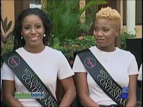 Miss Universe Belize Pagent