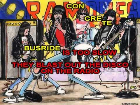 Ramones Karaoke - Rockaway Beach