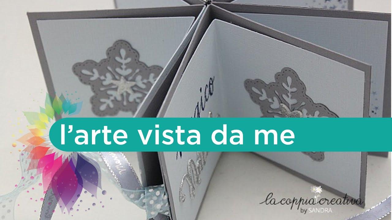 Ben noto Scrapbooking Mini Album Tutorial:Star Book-Natale Fai da te - YouTube OM09