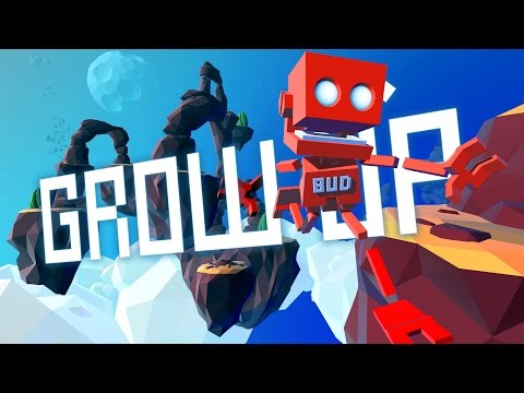 Grow Up - Ep. 1 - Riding Giant Starplants! - Let's Play Grow Up Gameplay