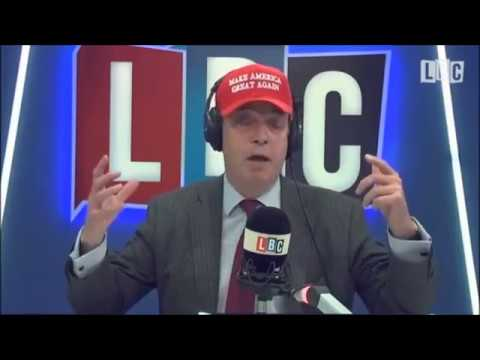 Nigel Farage Discusses the Trump and Theresa May Meeting