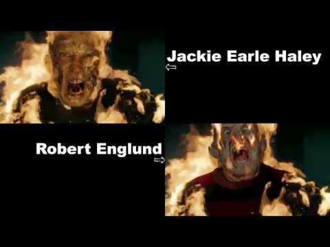 Fred Head Test Footage: Replacing Jackie Earle Haley's face with Robert Englund's face