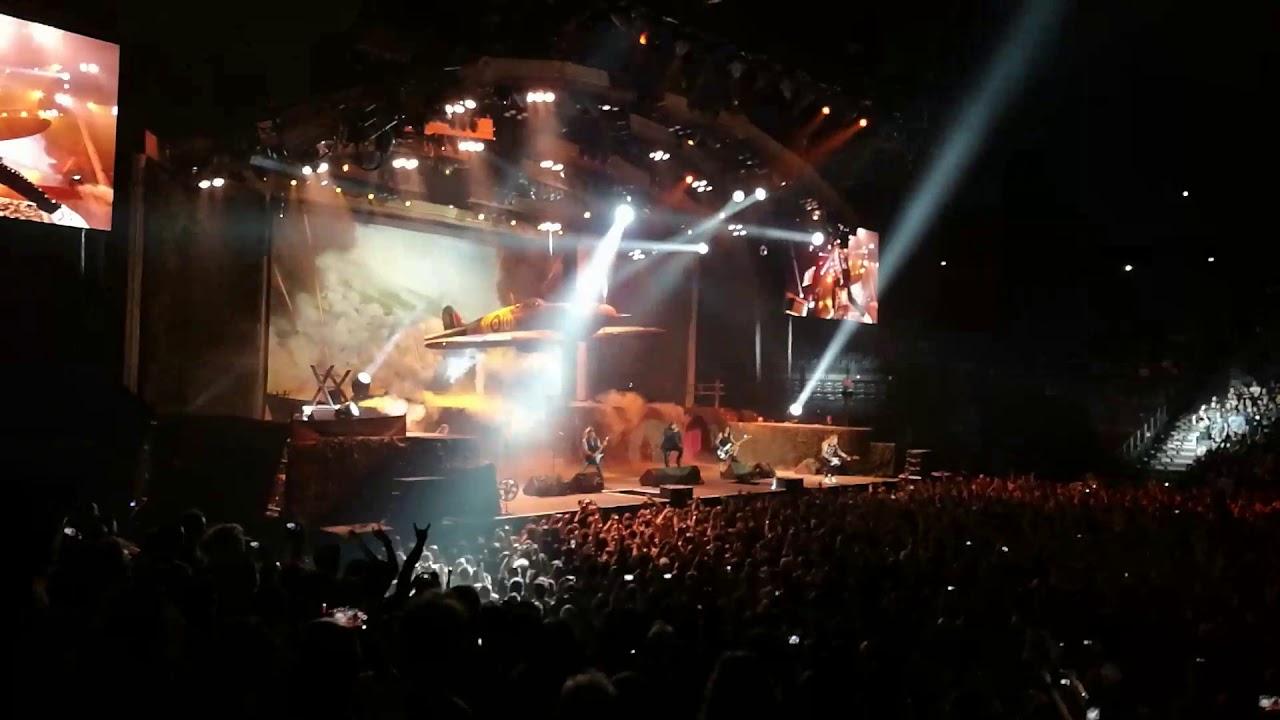 Iron maiden live - intro -  paris 5 juillet 2018 -  aces high -